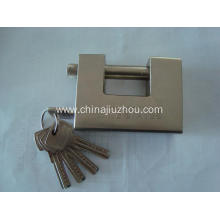 Thickening Rectangle Blade Iron Padlock